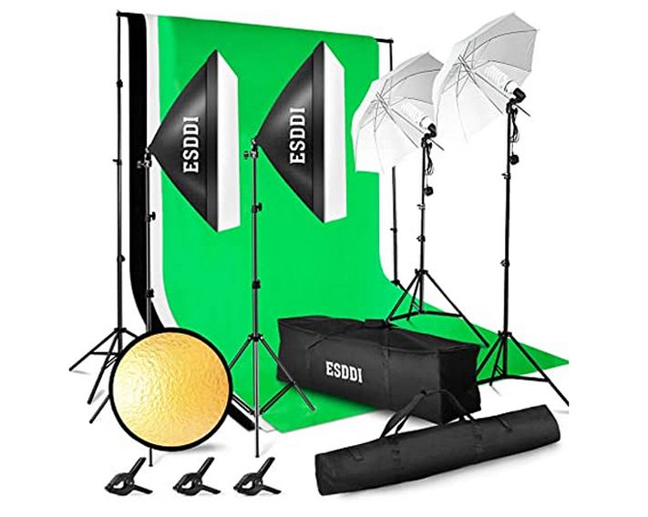 ESDDI Professionelles Fotostudio-Set